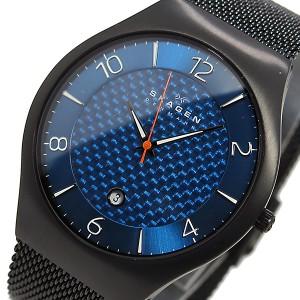 スカーゲン SKAGEN クオーツ メンズ 腕時計 SKW6147 ブルー