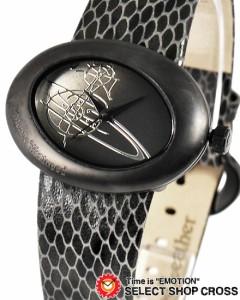 送料無料 ヴィヴィアン・ウエストウッド Vivienne Westwood レディース アナログ 腕時計 VV014CHBK ブラック