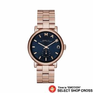 7f1b9b00807d MARC BY MARCJACOBS マークバイマークジェイコブス Baker ベイカー グリッツ 腕時計ネイビー/ピンクゴールド MBM3330