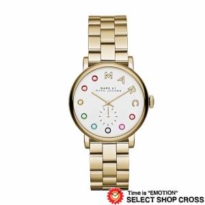 44aaa47f3b91 MARC BY MARCJACOBS マークバイマークジェイコブス 腕時計 レディース Baker Glitz ベイカー グリッツ ホワイト/ゴールド  MBM3440
