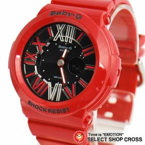 【3年保証】 【送料無料】 CASIO カシオ Baby-G レディース 腕時計 アナデジ BGA-160-4BDR レッド BGA-160-4B