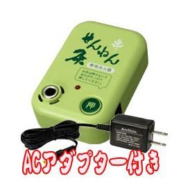 ★送料無料/6個セット★せんねん灸 温灸もぐさ 寿印 1級品(300g)+点火器セット(ACアダプター付)