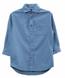Aライトインディゴ(7分袖)