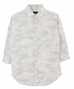 Aホワイトカモ(7分袖)