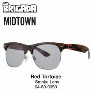 BRIGADA EYEWEAR(ブリガダ)/MIDTOWN/Red Tortoise/Smoke Lens/SUNGLASSES サングラス