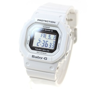 4e6cd6c8c9 CASIO BABY-G カシオ ベビーG Tripper トリッパー 電波 ソーラー 電波時計 腕時計 ホワイト デジタル