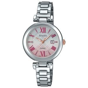 21ced9555b カシオ シーン CASIO SHEEN ソーラー 腕時計 レディース SHS-4502D-4AJF
