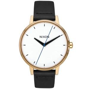 2c514e5fcb ニクソン NIXON ケンジントン レザー KENSINGTON LEATHER 腕時計 レディース ゴールド/バー NA1083157-00
