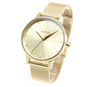 d3a67933b1 ニクソン NIXON ケンジントン ミラネーゼ KENSINGTON MILANESE 腕時計 レディース ALL GOLD NA1229502-00
