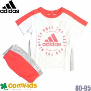6dc8f42c888aa adidas(アディダス)SPORT ID ロゴTシャツ&ハーフパンツセット (キッズ ベビー
