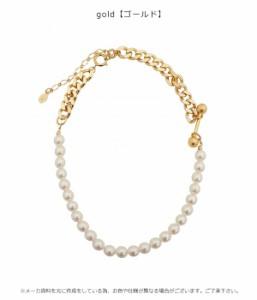 SALE 50%OFF ハニーミーハニー HONEY MI HONEY pearl chain necklace パールチェーンネックレス レディース アクセサリー