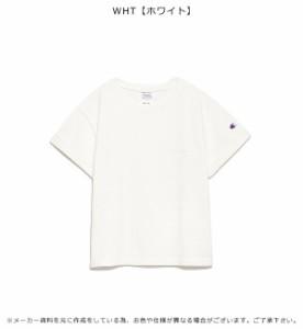 SALE 40%OFF フレイ アイディー FRAY I.D × Champion ポイント刺繍Tシャツ tシャツ 半袖 ロゴ Champion チャンピオン