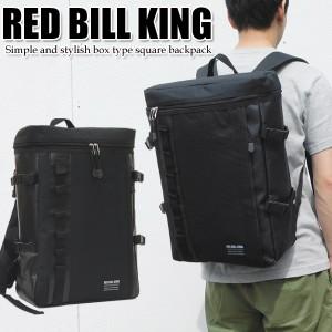 d44c134235c6 RED BILL KING スクエアリュック メンズ レディース リュック 四角 通学バック 高校生 学生 人気 おしゃれ 黒