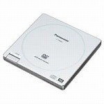 Panasonic ポータブルDVD-SuperMULTIドライブ(外付、USB2.0) LF-P968C