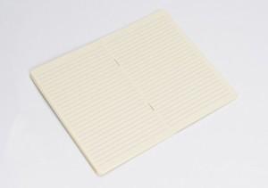 クオバディス ノート 3冊パック 10x15cm用 アイボリー qvnotep10x15