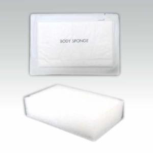ボディスポンジ 海綿タイプ 厚み 30mm(1セット100個入)