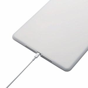 ELECOM iPad Air 2 シリコンケース ホコリを防ぐアンチダストコート クリア TB-A14SCCR