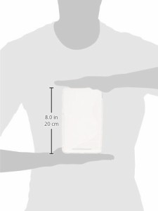 PLATA ( プラタ ) Nexus 7 用 ウェーブ デザイン ソフト ケース ( クリア 透明 ) WM-730CL