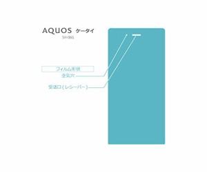 AQUOS ケータイ SH-06G 専用 ガラスフィルム  ドコモ 国ッジ加工 SHARP シャープ on-device (国内正規流通品)