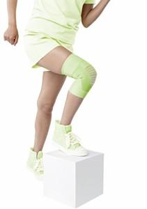 バンテリンサポーター ひざ用 ライトグリーン ふつうサイズ ひざ頭周囲 34~37cm