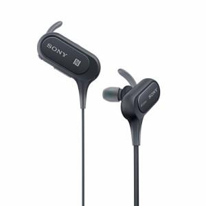 ソニー SONY ワイヤレスイヤホン MDR,XB50BS  防滴/スポーツ向け Bluetooth/NFC対応 マイク付き/ハンズフリー通話可能  ブラック MDR,XB5