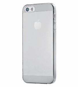 ELECOM iPhone SE/5/5S もはや裸持ち ウルトラスリムシェルカバー 厚さ0.6mm 液晶保護フィルム付 クリア PS-A12DBCR