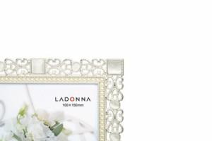 LADONNA ブライダルフレーム ポストカード ホワイト MJ69-P-WH
