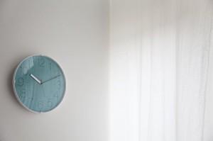 Lemnos CARA 電波時計 ブルー