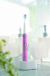 オムロン 音波式電動歯ブラシ メディクリーン HT-B473-PK ピンク