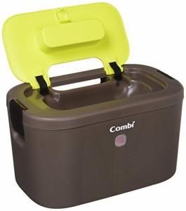 コンビ Combi おしり拭きあたため器 クイックウォーマー LED+ネオングリーン 上から温めるトップウォーマーシステム