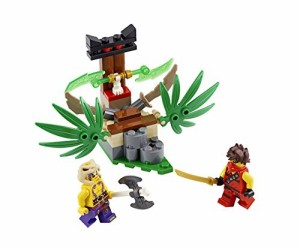 レゴ (LEGO) ニンジャゴー アナコン・ジャングルトラップ 70752