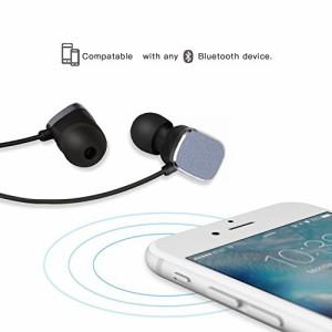 COULAX Bluetooth イヤホン 防汗スポーツ仕様 マイク内蔵 高音質ノイズキャンセリングワイヤレス イヤホン