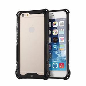 ELECOM iPhone 6s/6 対応 ZEROSHOCKケースバンパー ブラック  PM-A15ZEROBBK