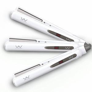ストレートアイロン メンズ兼用 デジタル温度表示ヘアアイロン ウェット&ドライ髪適用 230℃