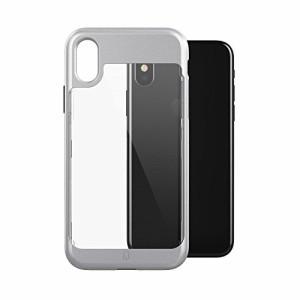 Patchworks iPhone X ケース Sentinel Contour Case シルバー ( 耐衝撃 にじみ防止 オンライン専用パケ ) アイフォン X ケース