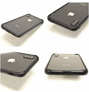 X-doria iPhone X ケース/カバー バンパー METAL+TPU シルバー   3602IP8A