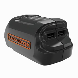ブラックアンドデッカー(BLACK+DECKER) 18V USBアダプター(本体のみ) BDUSB18-JP