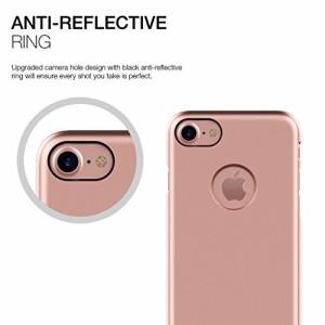 Patchworks iPhone7 ケース Pureskin ローズゴールド ( 耐衝撃 薄型 ) アイフォン 7 ケース
