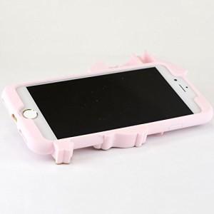 グルマンディーズ キキ&ララ iPhone7(4.7インチ)対応シリコンケース キキ&ララ san-659a