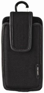 クツワ Dr.ion スマートフォンケース セミハード 214DRBK 縦型 ブラック