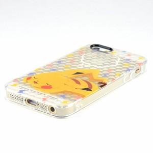 ポケットモンスター iPhoneSE/5s/5対応ソフトジャケット おやすみピカチュウ poke-547a