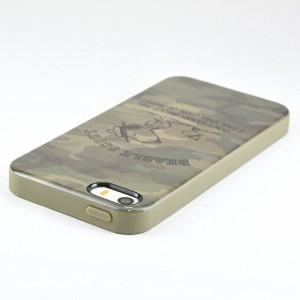 ピーナッツ iPhoneSE/5s/5対応ソフトケース 迷彩 sng-159a