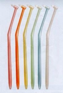ラピス ワンタフトブラシ 歯科医院推奨 特殊歯ブラシ 3本3色セット