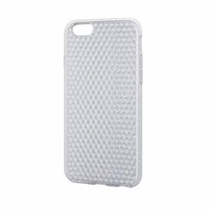 ELECOM iPhone 6s/6 対応 ソフトケース ダイヤカット PM-A15UCJCR