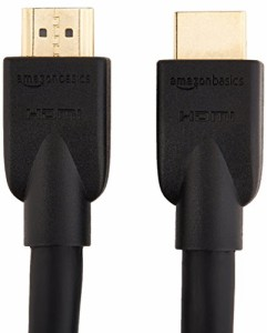 Amazonベーシック ハイスピードHDMIケーブル - 3.0m 2本セット(タイプAオス - タイプAオス/イーサネット/3D/4K/オーディオリターン/PS3/P