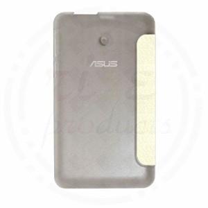 Asus Memo Pad 7 ME170C ケース カバー 専用 超薄型 最軽量 液晶全面を遮らないクリアハードケースつ折型スマートカバー ホワイト