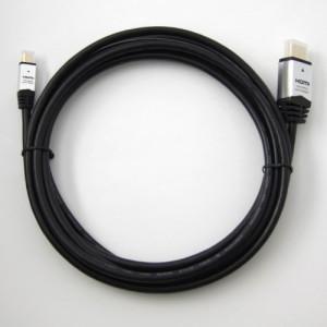 HORIC HDMIマイクロケーブル 3.0m タイプAオス-タイプDオス シルバー HDM30-041MCS