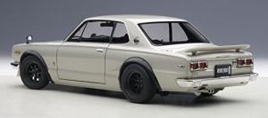 AUTOart 1/18 日産 スカイライン GT-R (KPGC10) チューンド・バージョン (シルバー)
