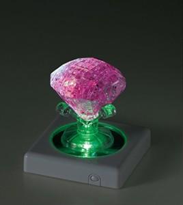 43ピース クリスタルパズル ピンク・ダイヤモンド