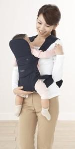 BuddyBuddy おんぶひも 快適チェンジヒモタイプ グレー A0940 4ヶ月~24ヶ月頃まで対象 お尻部分の快適チェンジで赤ちゃん快適
